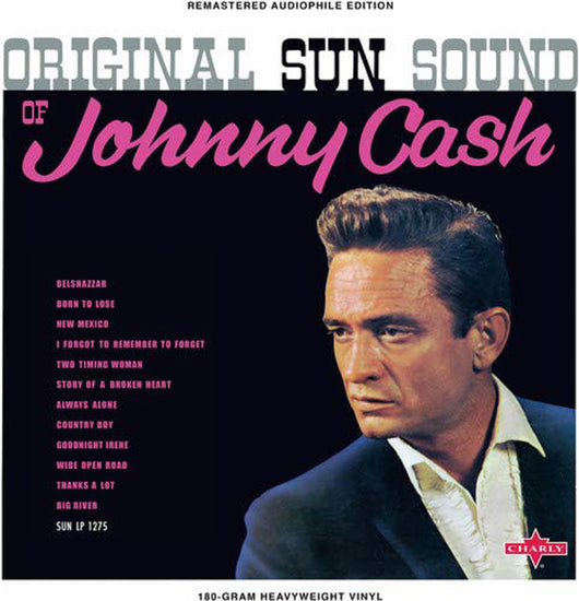 Johnny Cash Original Sun Sound of Johnny Cash Vinyl LP New 2018