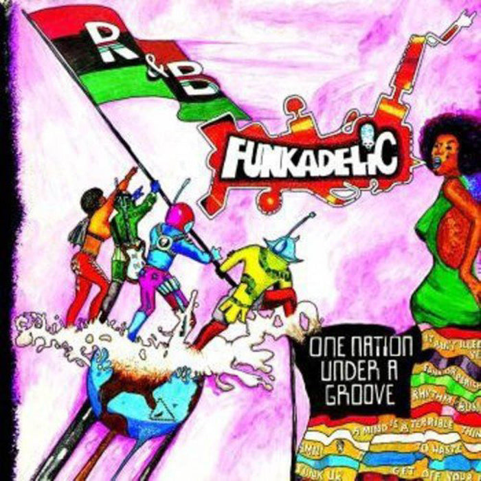 "Funkadelic One Nation Under A Groove Vinyl LP + 7"" Single New 2019"