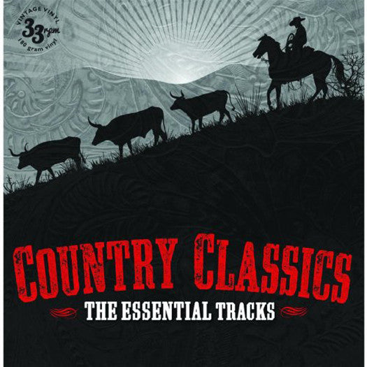 COUNTRY THE ESSENTIAL TRACKS LP VINYL 33RPM NEW 2013