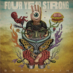 Four Year Strong - Brain Pain Double Vinyl LP New Out 28/02/20