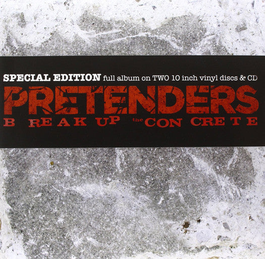 PRETENDERS BREAK UP THE CONCRETE LP VINYL NEW (US) 33RPM