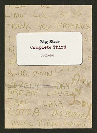 BIG STAR Complete Third Roughs To Mixes 2LP Vinyl NEW 2017