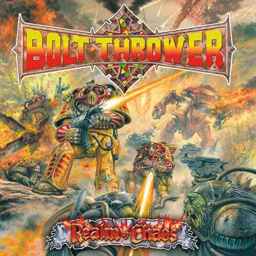 BOLT THROWER Realm Of Chaos LP Vinyl NEW 2017