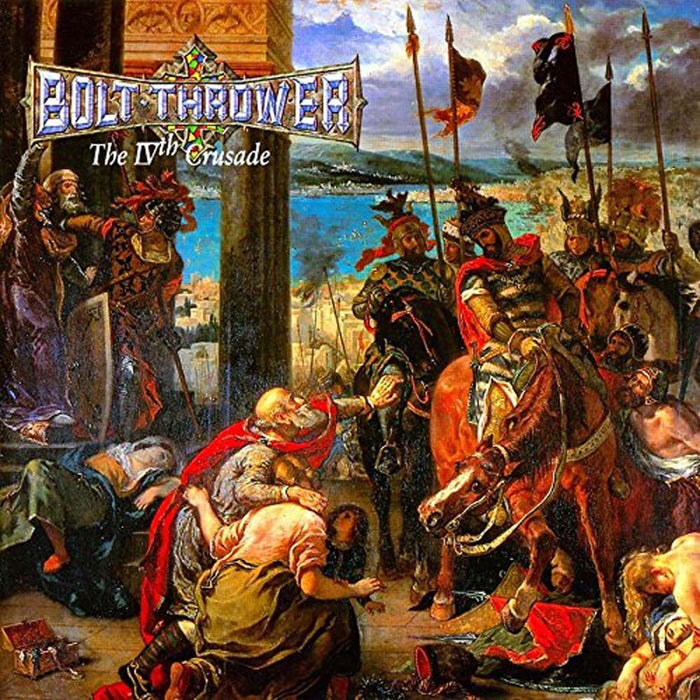 BOLT THROWER The IVth Crusade LP Vinyl NEW 2017