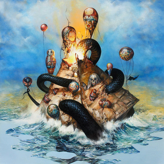 CIRCA SURVIVE DESCENSUS LP VINYL NEW (US) 33RPM