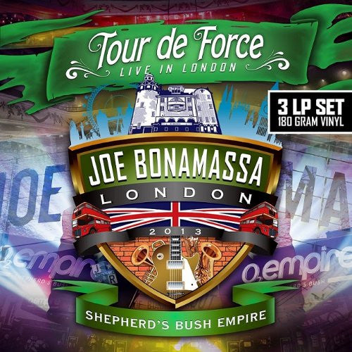 JOE BONAMASSA TOUR DE FORCE SHEPHERDS BUSH EMPIRE LP VINYL 33RPM NEW