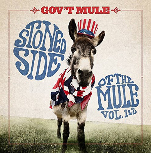 GOVT MULE STONED SIDE OF MULE VOL 1 AND 2 LP VINYL NEW 33RPM