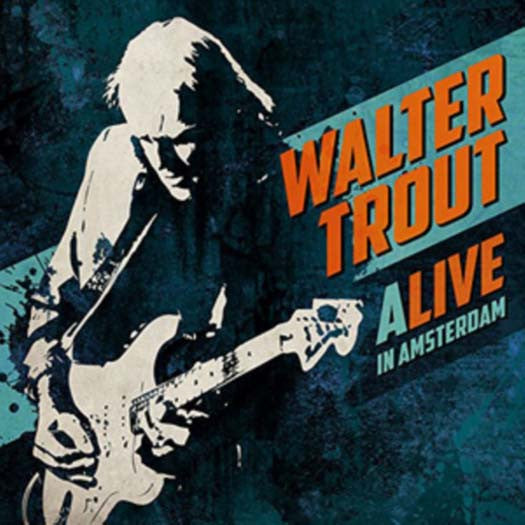 WALTER TROUT Alive in Amsterdam Triple LP Vinyl Set NEW