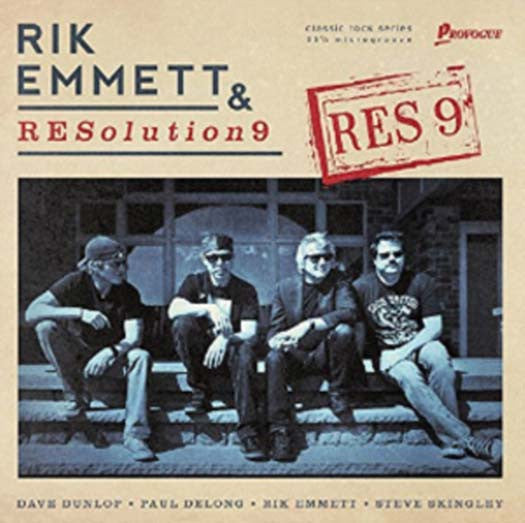 RES9 Rik Emmett RESolution9 LP Vinyl NEW 2016