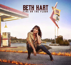 BETH HART Fire On The Floor LP Indies only Orange Vinyl NEW 2016