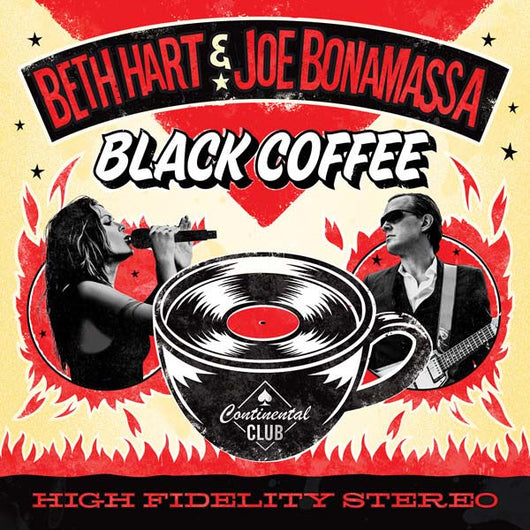 BETH HART & JOE BONAMASSA Black Coffee LP Red Vinyl NEW 2018