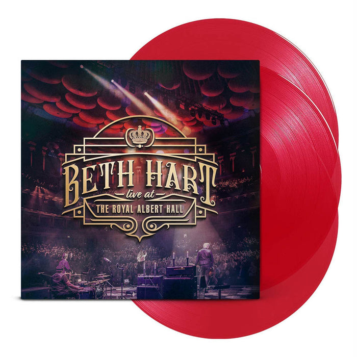 Beth Hart Live at the Royal Albert Hall Triple Red Vinyl LP New 2018