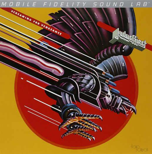 JUDAS PRIEST SCREAMING FOR VENGEANCE LP VINYL NEW (US)  LIMITED EDITION