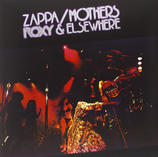 FRANK ZAPPA ROXY AND ELSEWHERE LP VINYL 33RPM NEW