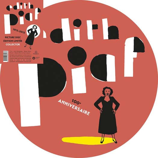 EDITH PIAF 1915 - 2015 LP VINYL NEW 33RPM