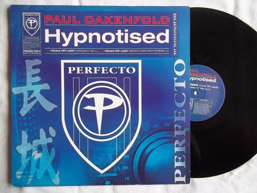 PAUL OAKENFOLD HYPNOTISED LP Vinyl Single NEW