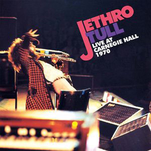 JETHRO TULL LIVE AT CARNEGIE HALL 1970 DOUBLE LP VINYL NEW 33RPM