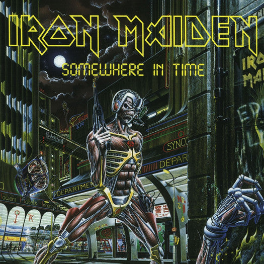 IRON MAIDEN SOMEWHERE IN TIME LP VINYL NEW 33RPM 2014