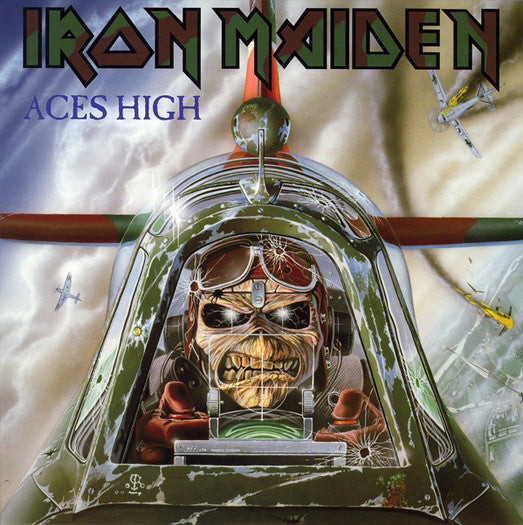 IRON MAIDEN ACES HIGH 7