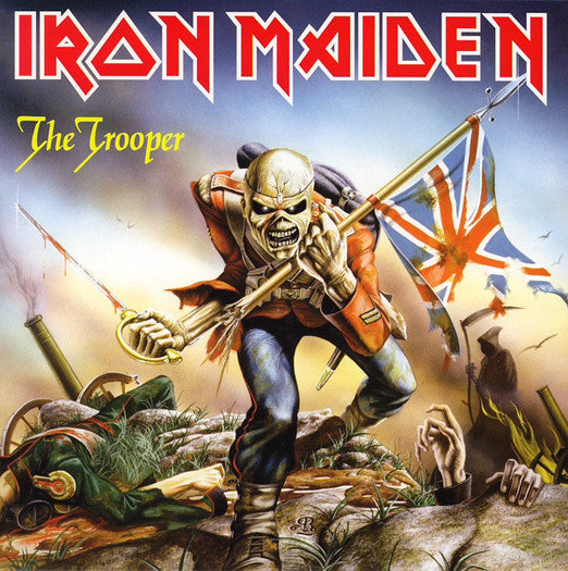 IRON MAIDEN THE TROOPER 7