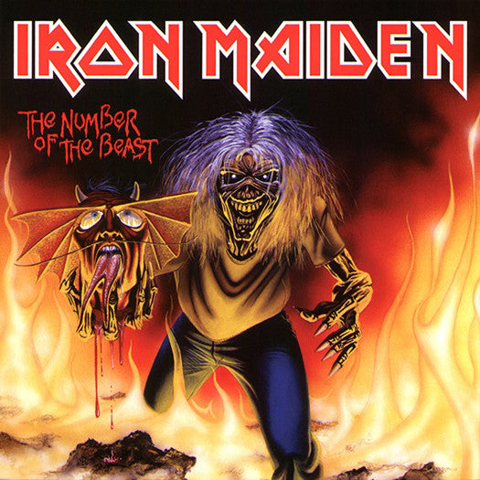"IRON MAIDEN THE NUMBER OF THE BEAST 7"" SINGLE VINYL NEW 2014 REISSUE"