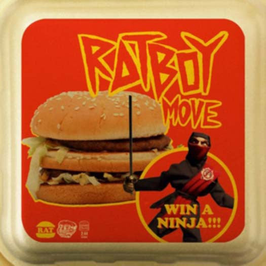 RAT BOY MOVE 7 INCH VINYL SINGLE NEW 33RPM