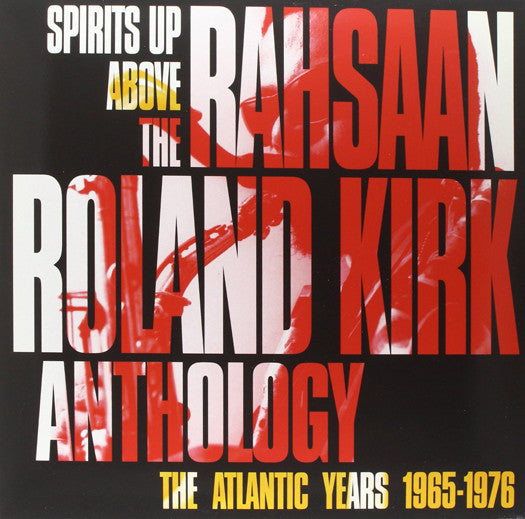 RAHSAAN ROLAND KIRK SPIRITS UP ABOVE THE ATLANTIC LP VINYL 33RPM NEW