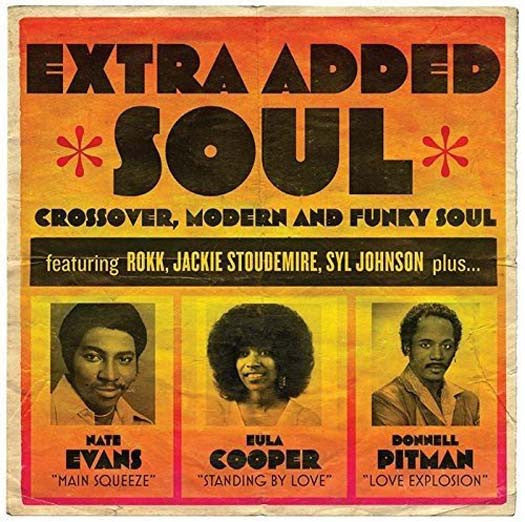 EXTRA ADDED SOUL Crossover Compilation 2LP Vinyl NEW