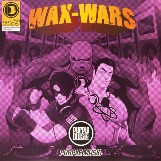 WAX-WARS DISC 3 LP VINYL NEW 33RPM