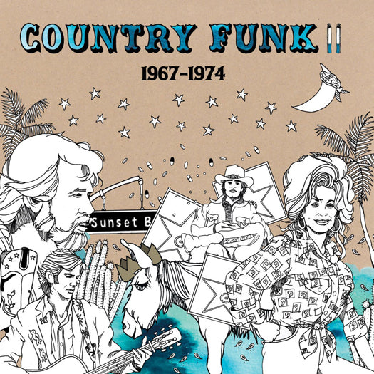 COUNTRY FUNK 2 1967-1974 LP VINYL NEW (US)