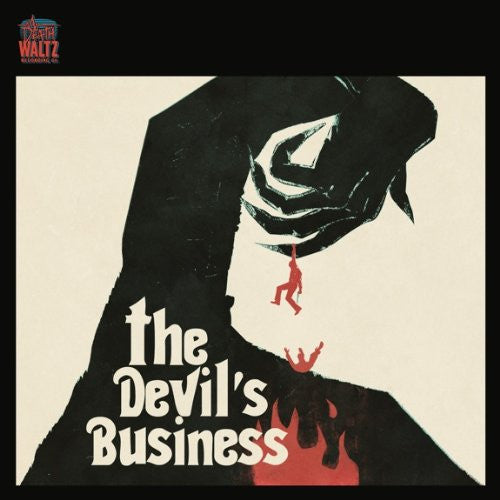JUSTIN GREAVES THE DEVILS BUSINESS LP VINYL 33RPM NEW