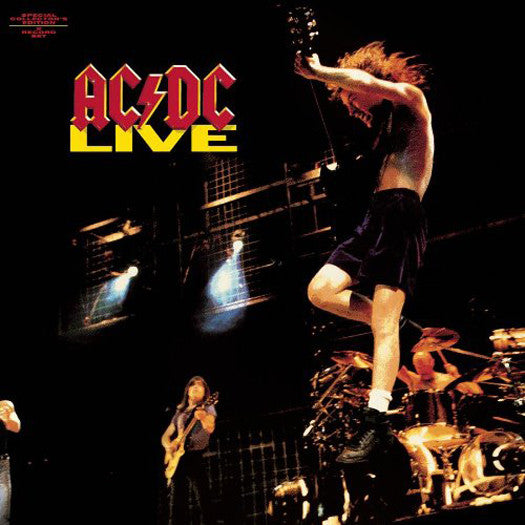 ACDC LIVE LP VINYL NEW (US) 33RPM REMASTERED