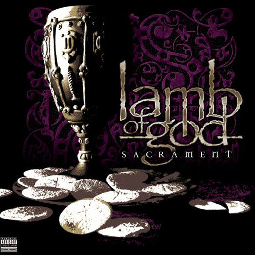 LAMB OF GOD SACRAMENT LP VINYL NEW (US) 33RPM