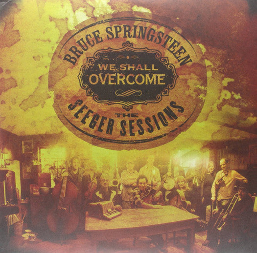 BRUCE SPRINGSTEEN WE SHALL OVERCOME SEEGER SESSIONS LP VINYL NEW (US)