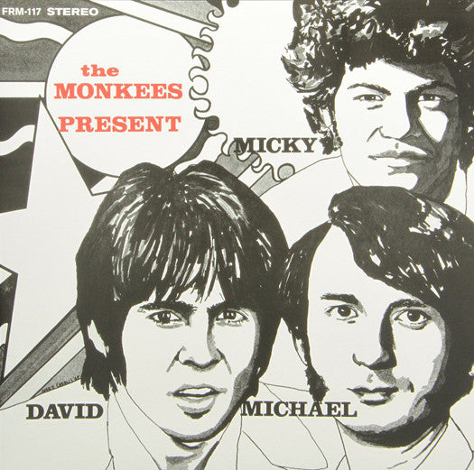 MONKEES MONKEES PRESENT LP VINYL NEW (US) 33RPM COLOURED