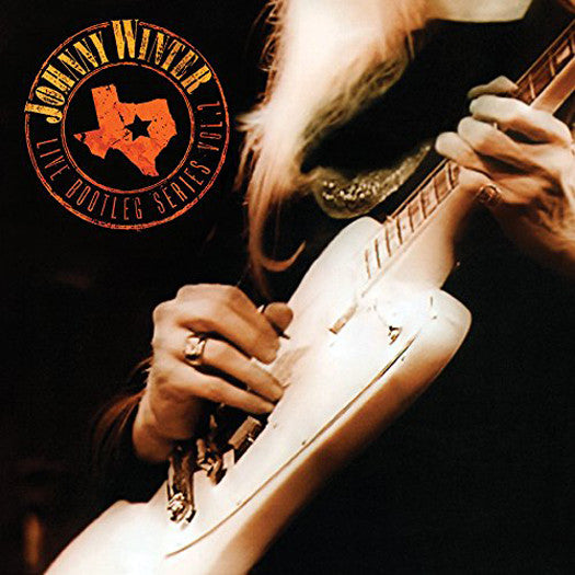 JOHNNY WINTER LIVE BOOTLEG SERIES 2 LIMITED COLOURED LP VINYL NEW (US)