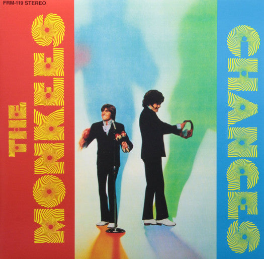 MONKEES CHANGES LP VINYL NEW (US) 33RPM COLOURED