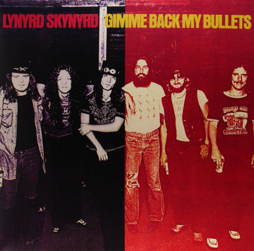 LYNYRD SKYNYRD GIMME BACK MY BULLETS LP VINYL NEW (US) 33RPM LIMITED