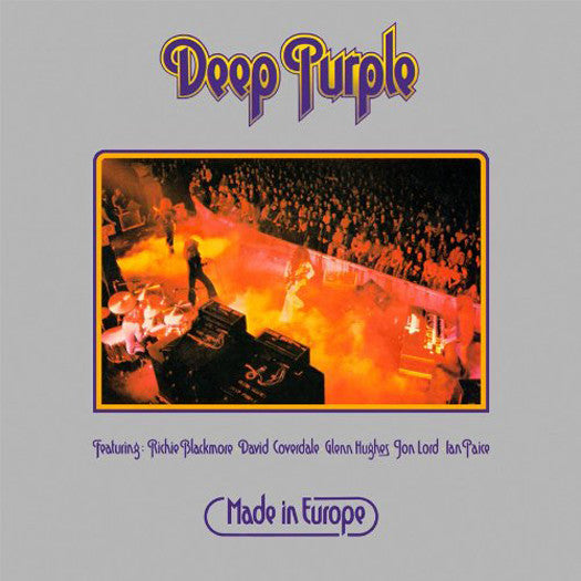 DEEP PURPLE MADE IN EUROPE LP VINYL NEW (US) 33RPM LIMITED EDITION