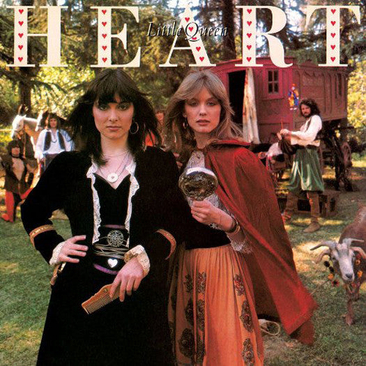 HEART LITTLE QUEEN LP VINYL NEW (US) 33RPM LIMITED EDITION