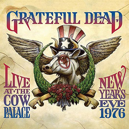 GRATEFUL DEAD LIVE AT THE COW PALACE-NEW YEARS EVE 1976 LP VINYL NEW (US)
