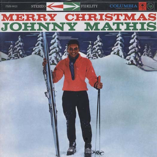 JOHNNY MATHIS MERRY CHRISTMAS LP VINYL NEW 33RPM