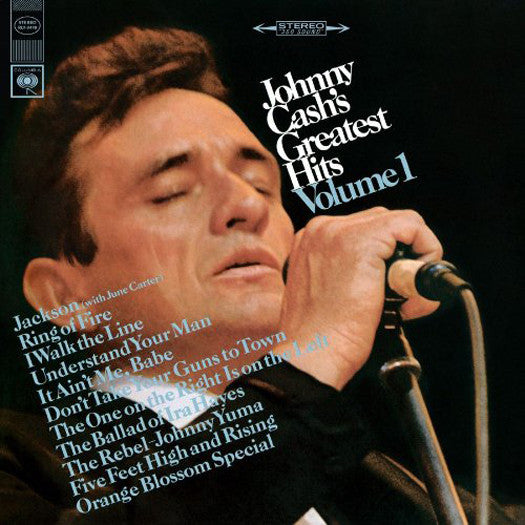 JOHNNY CASH'S GREATEST HITS 1 LIMITED EDITION LP VINYL NEW (US) 33RPM