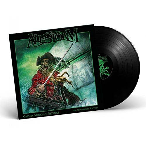 ALESTORM Captain Morgans Revenge Ann LP Vinyl Album NEW 2018