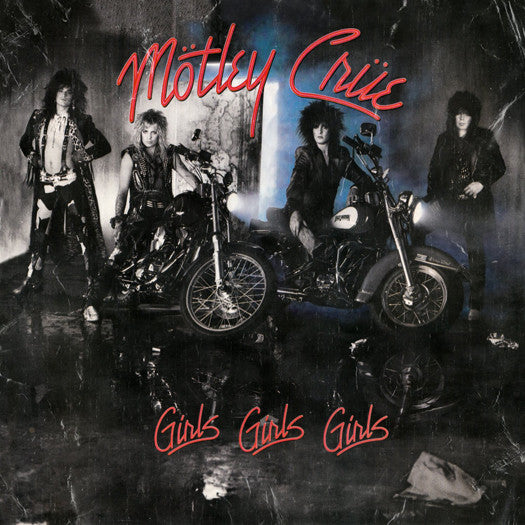 MOTLEY CRUE GIRLS GIRLS GIRLS LP VINYL NEW (US) 33RPM