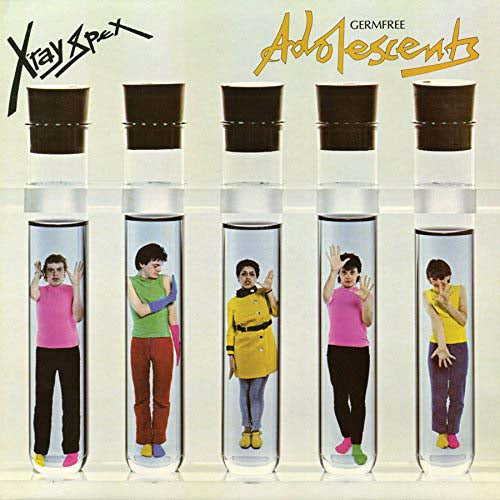 X-RAY SPEX Germfree Adolescents LP Blue/Green Ltd Vinyl NEW 2018