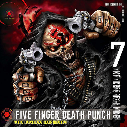 FIVE FINGER DEATH PUNCH And Justice For None LP Vinyl NEW