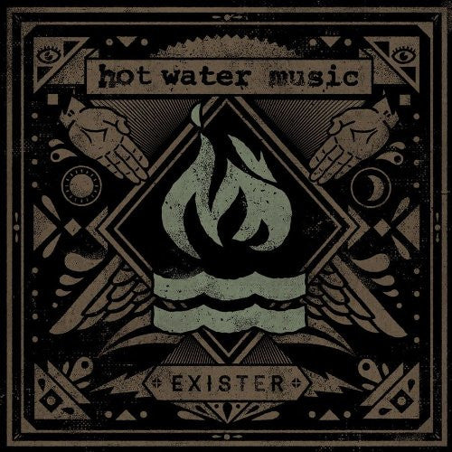 HOT WATER EXISTER LP VINYL 33RPM NEW