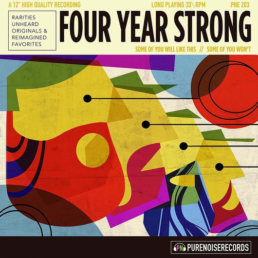 FOUR YEAR STRONG Some of You Will Like This LP Vinyl NEW 2017