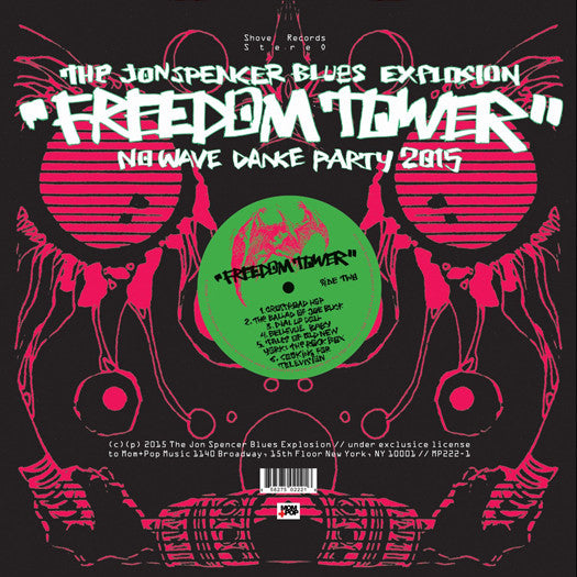 JON BLUES EXPLOSION SPENCER FREEDOM TOWER LP VINYL NEW (US)